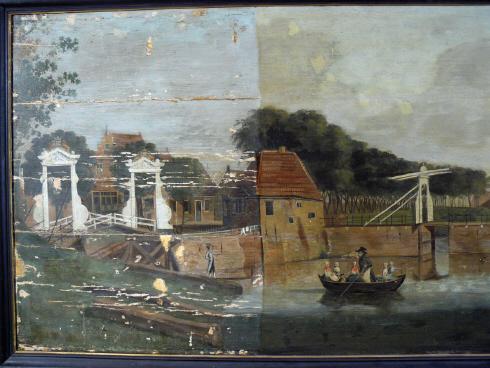 Kwekerij op het langste schilderij van dokkum tuinhistorisch genootschap cascade - Kwekerij verf ...