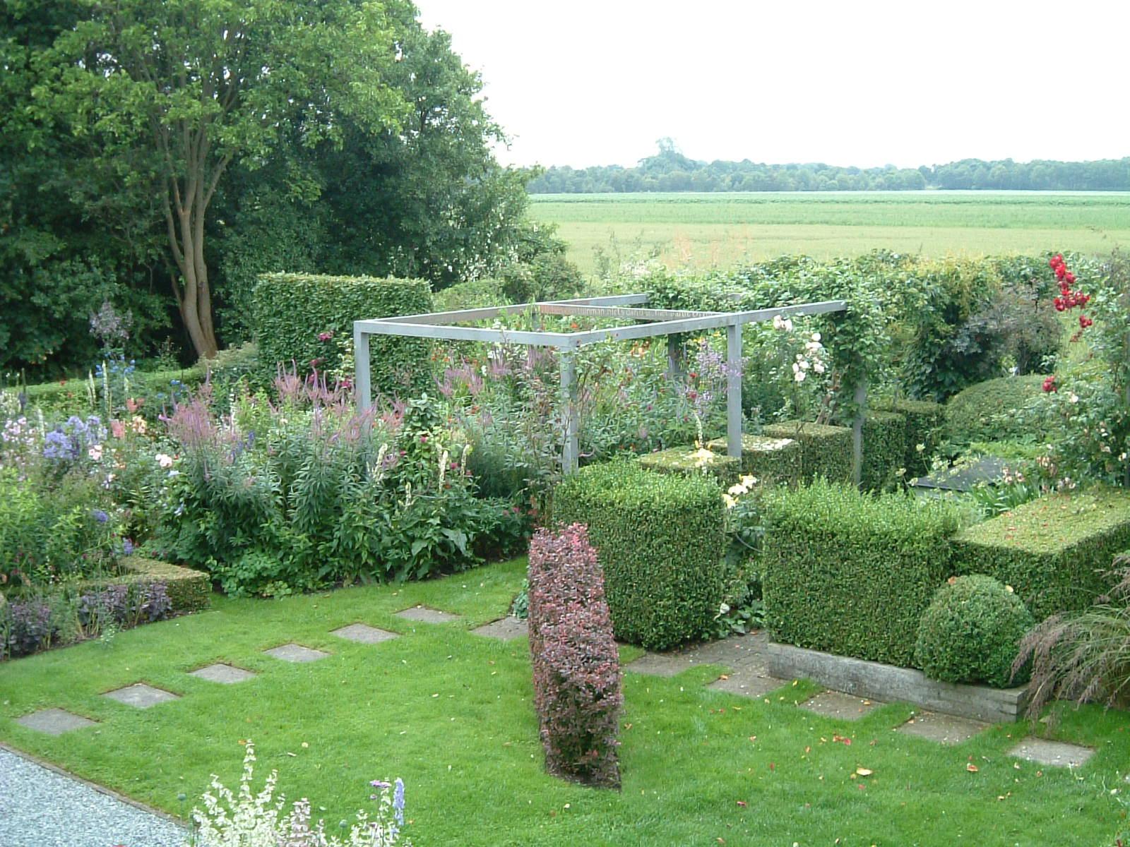 November 2006 tuinhistorisch genootschap cascade for Rob eigen huis en tuin