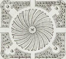 Bloemwaaier Beeckestijn (Velsen) - J.G. Michael (1772)
