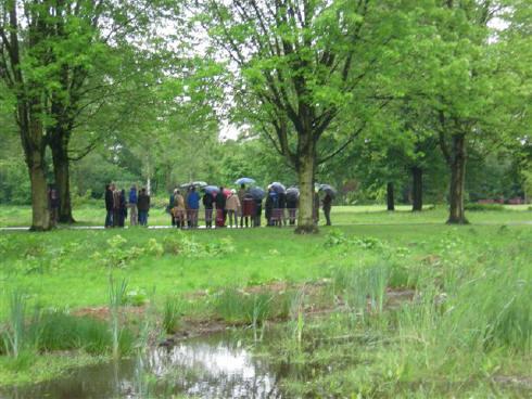 Deelnemers Cascade Excursie Tilburg